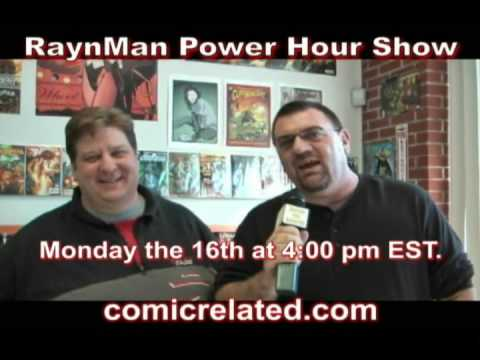 The RaynMan Power Hour Show Promo