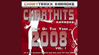 Sittin' At a Bar (Bartender Song) (Karaoke Version In the Style of Rehab)