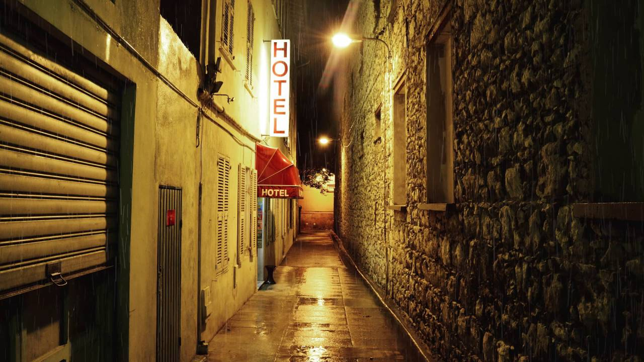 3 Hr. Rain In Alley/Sleep Sounds+Sound Therapy+White Noise+Nature - YouTube