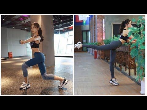 Спортивные женские лосины (леггинсы) для фитнеса с Алиэкспресс!