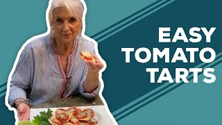 Quarantine Cooking: Easy Tomato Tarts Appetizer Recipe