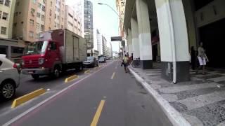Segregadores sozinhos não resolvem - Ciclovia em Niterói