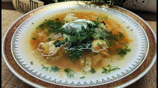 Щи с фасолью и фрикадельками - насыщают и согревают в холода. Рецепт из моего меню стройности.