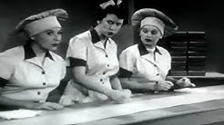 Lucy and Ethel wrap chocolates!