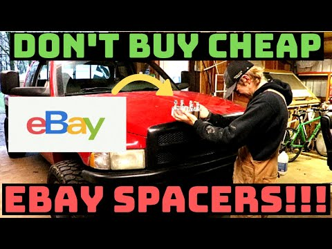 Don't buy cheap EBay wheel spacers!