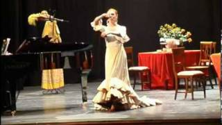 Monica Mariani canta La encarna -zarzuela