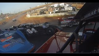 Going for the Gap Dirt Late Model Crash 12 Year Old Driver