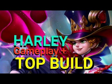 HARLEY - Gameplay + TOP BUILD - RANKED SOLOQ / Mobile Legends