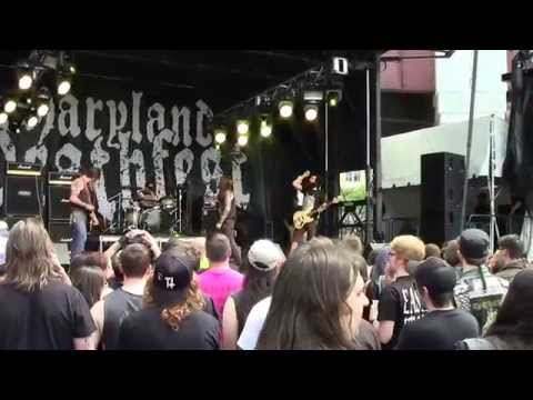 Graves at Sea - Betting on Black live @ Maryland Deathfest XII - 05.25.2014