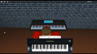 Stay - Unapologetic by: Rihanna ft. Mikky Ekko on a ROBLOX piano.