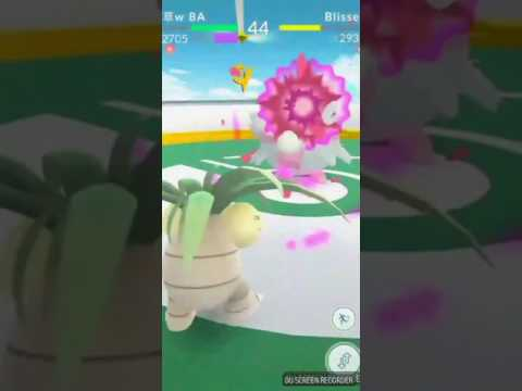 Pokémon Go Blissey Battle - Love Poetry: Magenta Rain (愛ノ詩-マジャンタライン)
