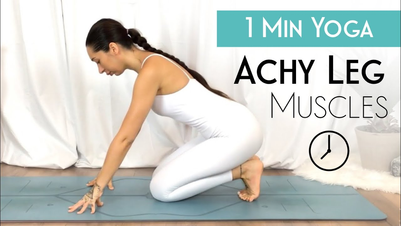 50 Minute Yoga For Achy Legs & Sore Muscles