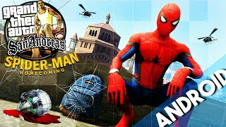 [3MB] Spider Man Homecoming Mod For GTA San Andreas Android