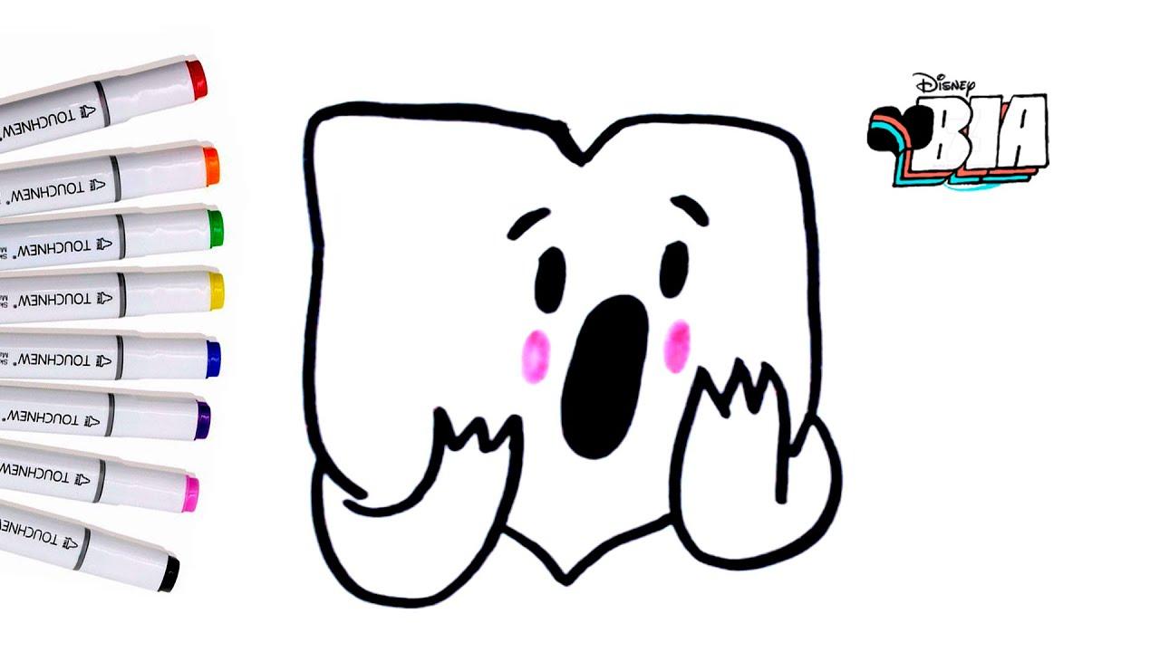 Disneybia Como Dibujar Stickers De Bia Bia La Serie De Disney