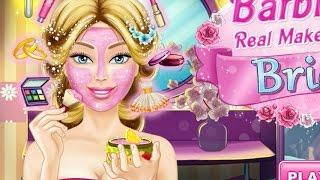 NEW Игры для детей—Disney Барби невеста! Макияж и платье—мультик для девочек