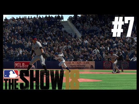 MASHING TRIPLES AND STEALING BASES! | MLB The Show 18 | RTTS Episode #7
