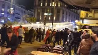 Des bagarres à Bruxelles à la suite de la qualification du Maroc