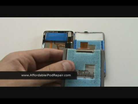 Tutorial - iPod Video 5th Gen Hard Drive Replacement Tutorial DIY Repair