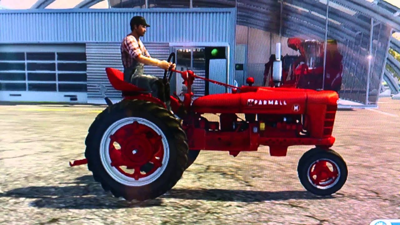 GamesCom 2013: LS 2013 - neue Fahrzeuge - Case IH Farmall H - YouTube