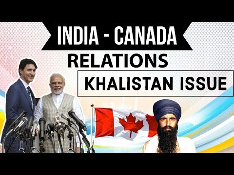Justin Trudeau India visit - Khalistan Issue - Should India be Worried? Current affairs 2018