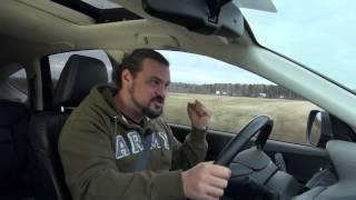 видео HONDA CRV: тест-драйв в программе