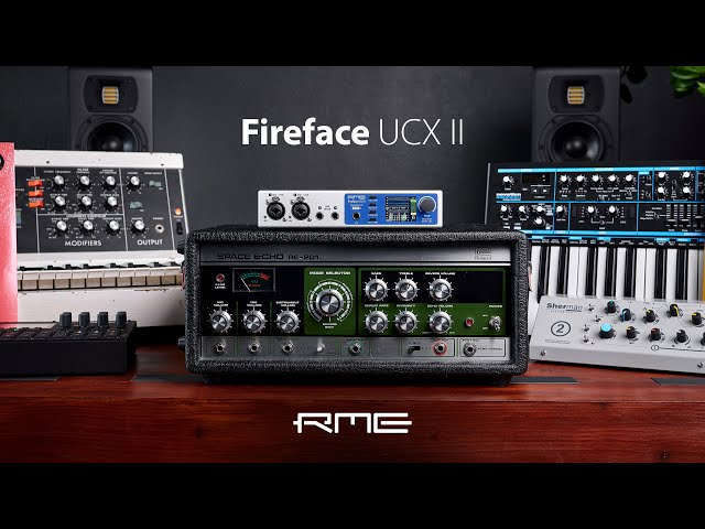 Fireface UCX II - 40-Channel 192 kHz, advanced USB Audio Interface