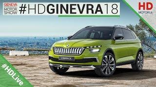SKODA VISION X: SUV, IBRIDO, 4X4 A METANO | Ginevra 2018