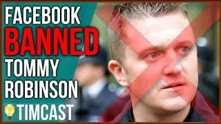 Tommy Robinson BANNED On Facebook, BBC Host Claims Responsibility