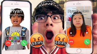 DO NOT FACETIME RYAN AND HIS MOM (FROM RYAN'S WORLD) AT THE SAME TIME!! *GONE WRONG*