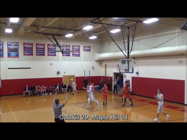 Game Highlights Boys' Varsity: Catskill 60 vs Maple Hill 73 (F)