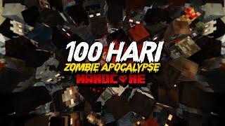 100 Hari di Minecraft Hardcore tapi Zombie Apocalypse (Part1)