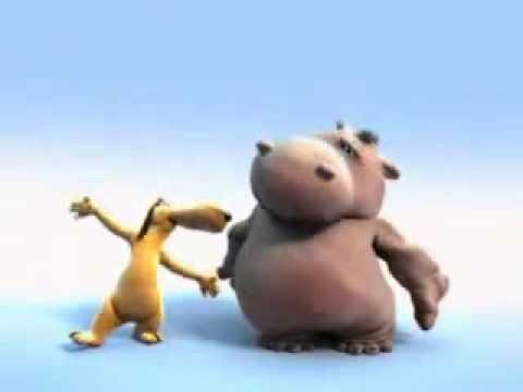 Мультфильм HIPPO SONG Бегемот поет. Песня бегемотика