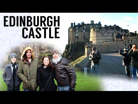 Edinburgh Castle & National Gallery  - Scotland Travel