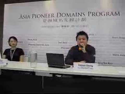.Asia Pioneer Domains Program launch -- Why?