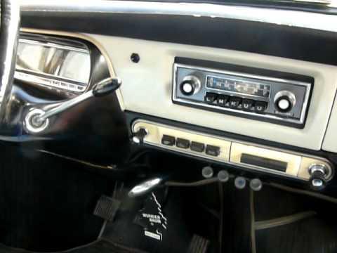 Tatra 2-603 - radio Blaupunkt Frankfurt