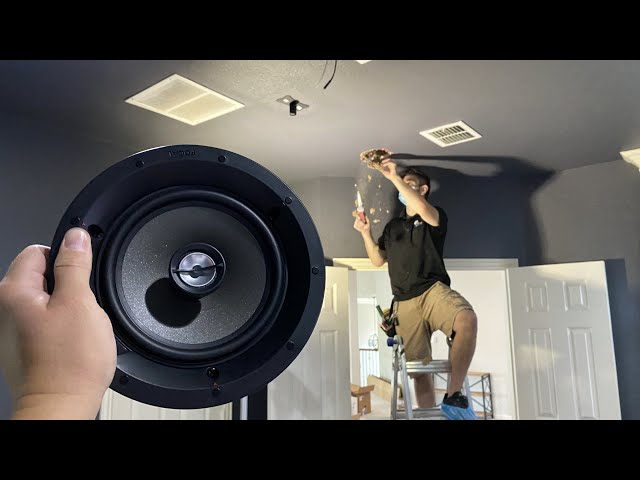 HOW-TO Install In-Ceiling Speakers Focal 100 Series