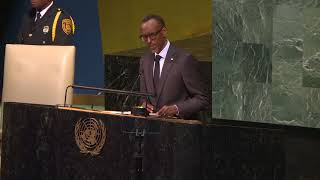 President Kagame delivers his remarks at 72nd UNGA | New York, 20 September 2017