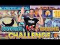 🐺 Coyotes VS Wolves SLOT BATTLE CHALLENGE!
