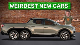 homepage tile video photo for Here Are the 11 Weirdest New Cars on Sale Today