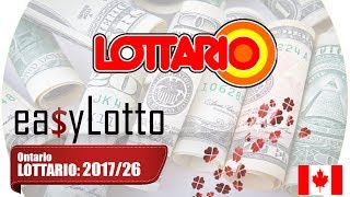 Lottario Winning Numbers Jul
