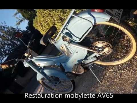 Restauration Mobylette AV65 1951