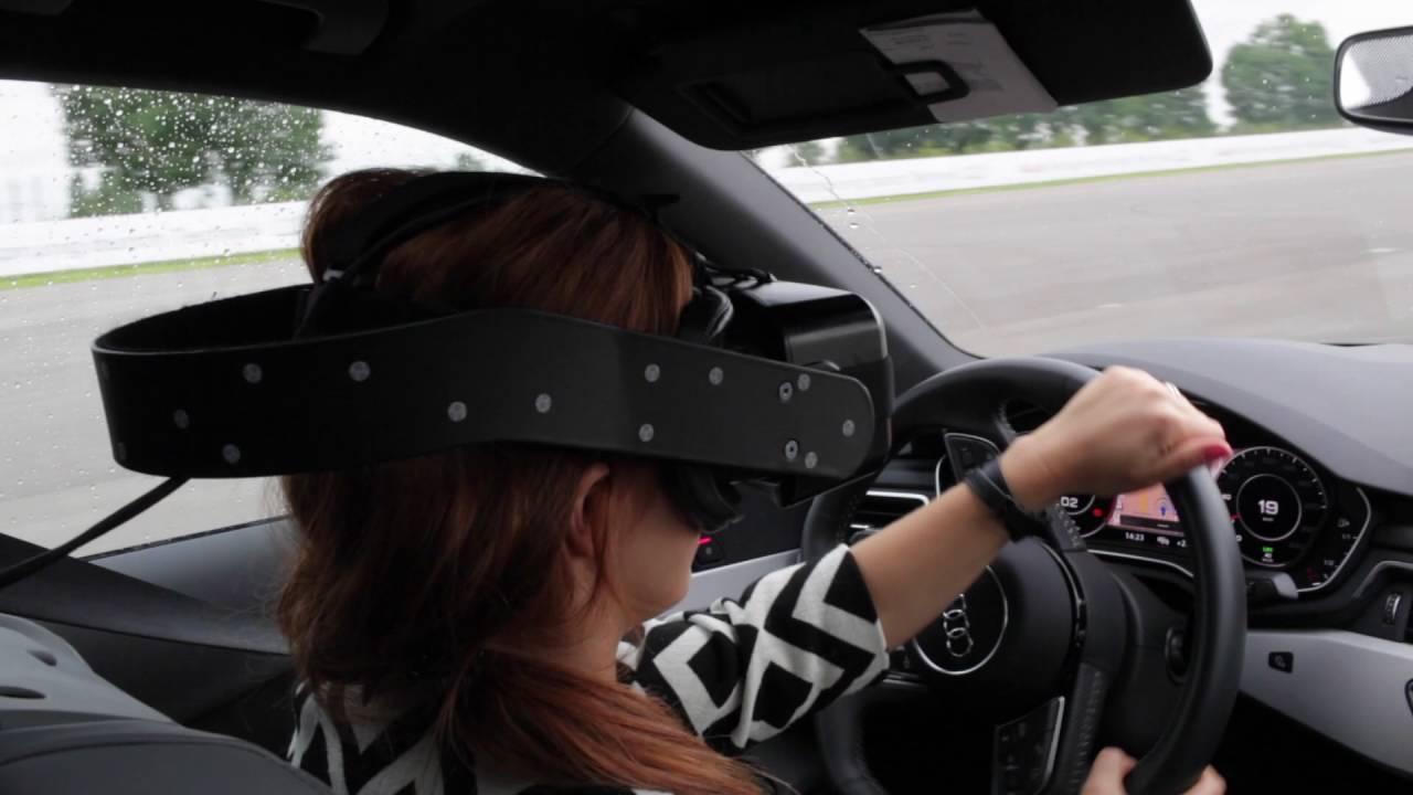 Virtual Reality: Mit VR-Brille ein richtiges Auto fahren ...