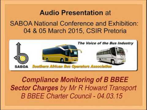 11 - Audio Presentation. Compliance Monitoring of B BBEE Sector Charges