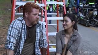 Озвученное интервью со съемок шестого сезона «Ходячих мертвецов»
