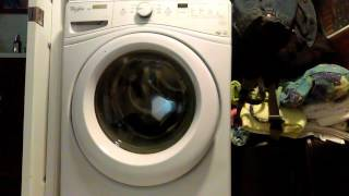 whirlpool front load washer code f5 and e3
