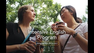 The Students of William & Mary's Intensive English Program