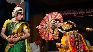 Yakshagana -- Nilkodu-Kadabal - Dharanipatmaje Dhanujendrana Kaanuta..Jansale