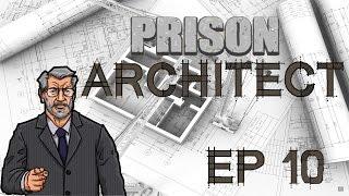 Prison Architect Управление дверьми, видеонаблюдение ч. 10