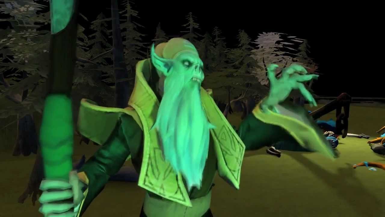 dota hero pals the mysterious ticking noise