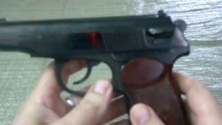 газовый пистолет ИЖ 79-8 ПМ - обзор